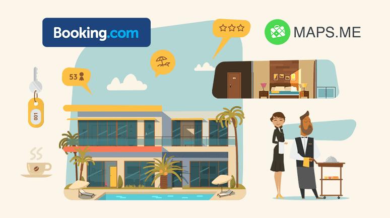 Maps Booking.com
