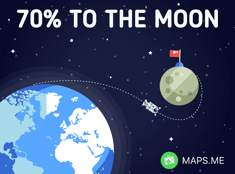 Maps to the Moon