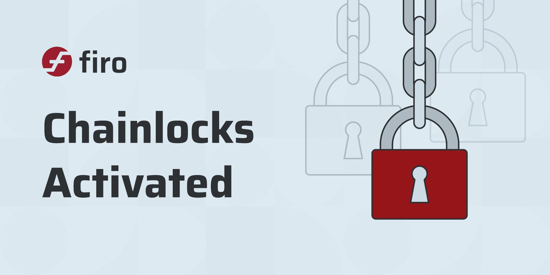 Chainlocks activated