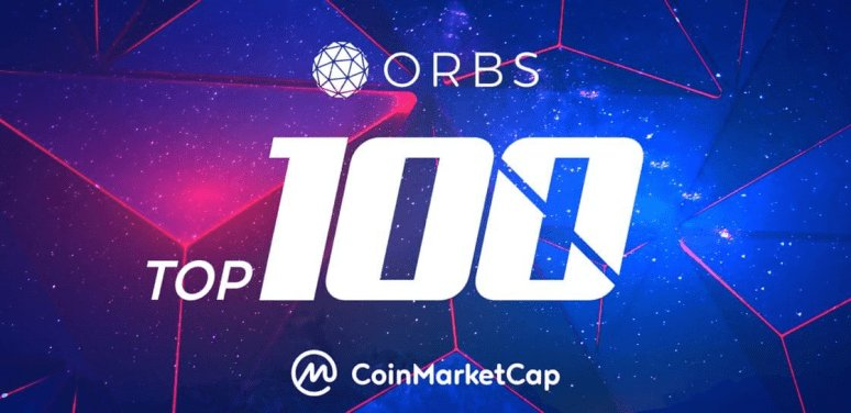 Orbs TOP 100 Cryptocurrency