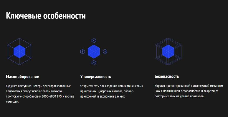 Conflux Network особенности