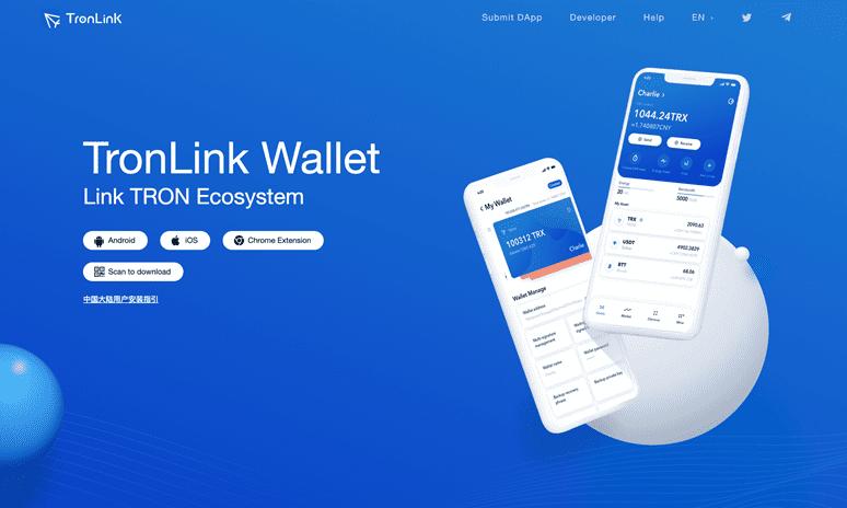 TronLink - Кошелек для криптовалюты TRON